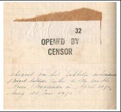 Jo Smits brief 1940
